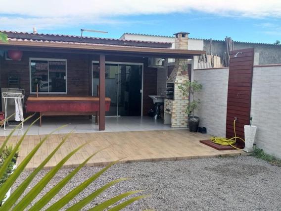 Casa Em Praia Do Sonho (ens Brito), Palhoça/sc De 45m² 1 Quartos À Venda Por R$ 170.000,00 - Ca252646