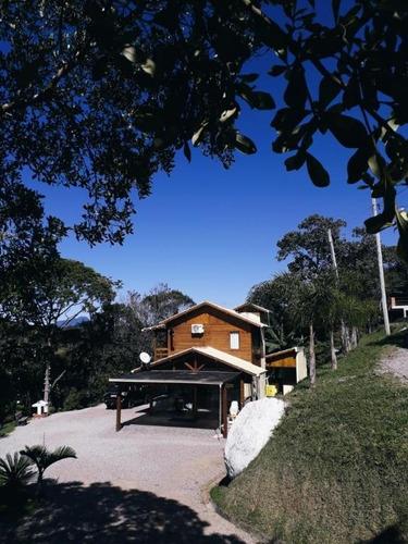 Chácara Com 2 Dormitórios À Venda, 400 M² Por R$ 392.200,00 - Pagára - Santo Amaro Da Imperatriz/sc - Ch0065