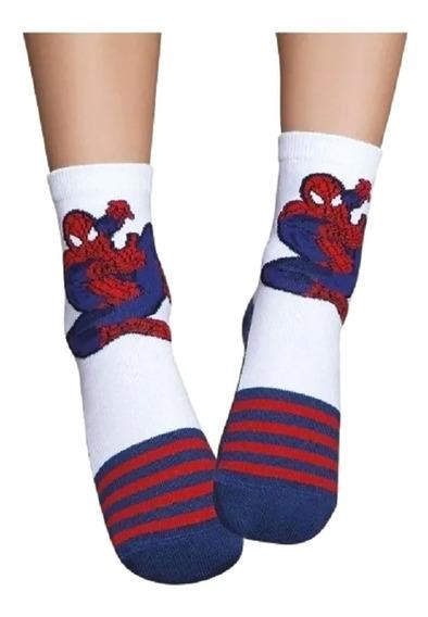 Meia Infantil Masculino Spider Man Puket