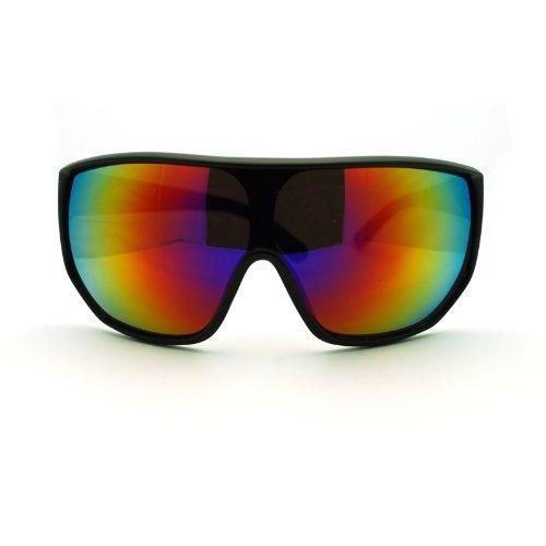 dd961ba6a5 Escudo De Gran Tamano Para Hombre Futurista Mono Lente Gafas