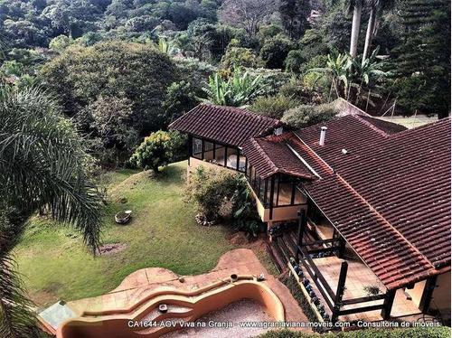 Imagem 1 de 30 de Casa Residencial À Venda, Granja Viana, Carapicuíba. - Ca1644
