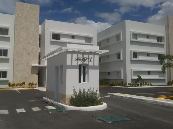 Apartamento En Vista Golf 1 En Playa Nueva Romana