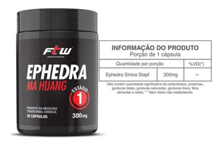 Efhedra (efedrina Termogenico ) Ftw