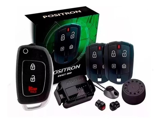 Alarme Positron Exact 360 + Chave Canivete Hb20