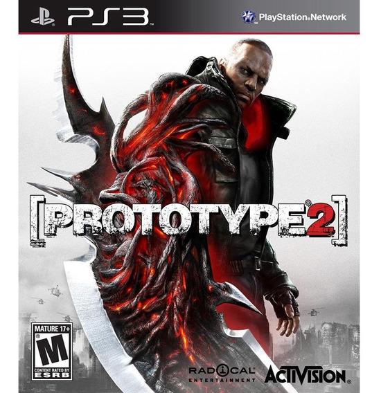 Game Play3 - Prototype 2 - Semi-novo Jogo Ps3