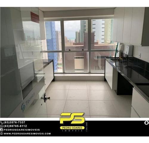 Imagem 1 de 14 de Sala Para Alugar, 53 M² Por R$ 3.800/mês - Miramar - João Pessoa/pb - Sa0278