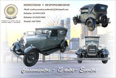 Alquiler De Auto Antiguo - Ford A 1929 - Convertible