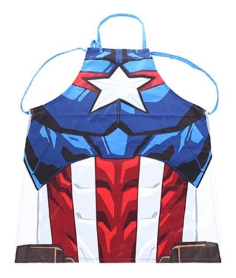 Avental De Cozinha Miniso - Capitão América