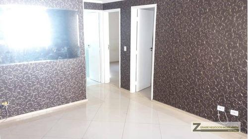 Apartamento Com 2 Dormitórios À Venda, 52 M² Por R$ 250.000,00 - Macedo - Guarulhos/sp - Ap0134