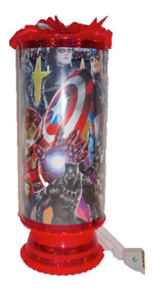 Hulk Avengers 10 Lámparas 38cm Alt Centros De Mesa Envio Inc