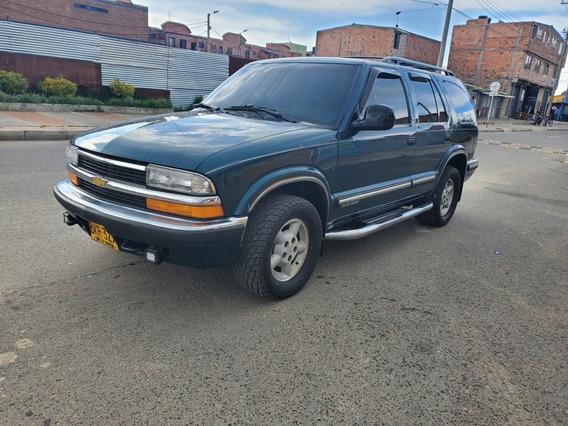 Chevrolet Blazer Camioneta Pasajeros Economica Puestos Campe
