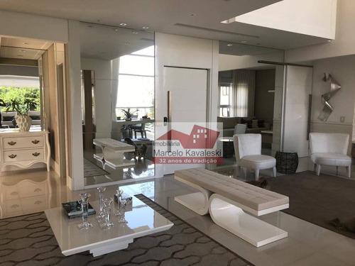 Apartamento Com 4 Dormitórios À Venda, 276 M² Por R$ 3.600.000,00 - Vila Mariana - São Paulo/sp - Ap13445