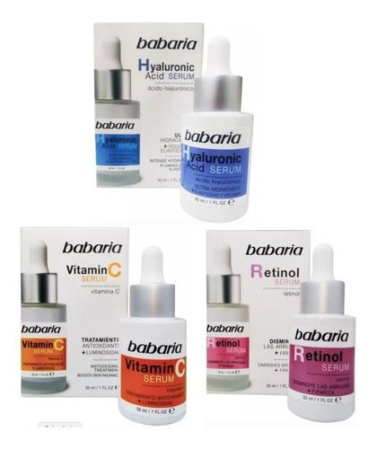 Babaria Serum Vitamina C, Retinol, Hialuronico 30 Ml