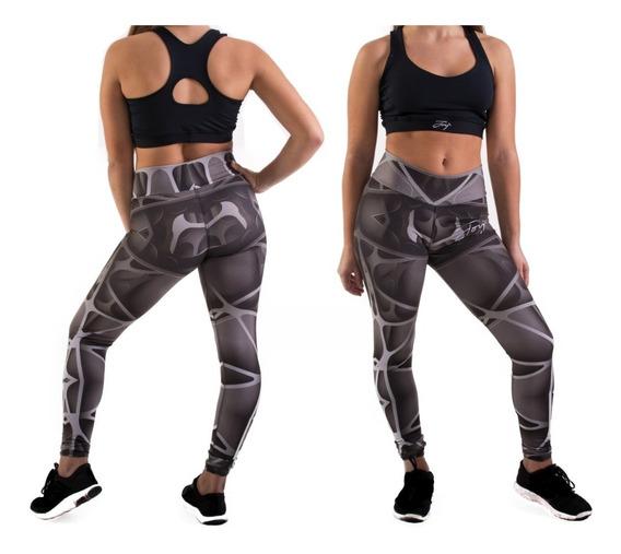 Conjunto Deportivo Mujer Tiro Alto Calza Ytop Joy Futuristic