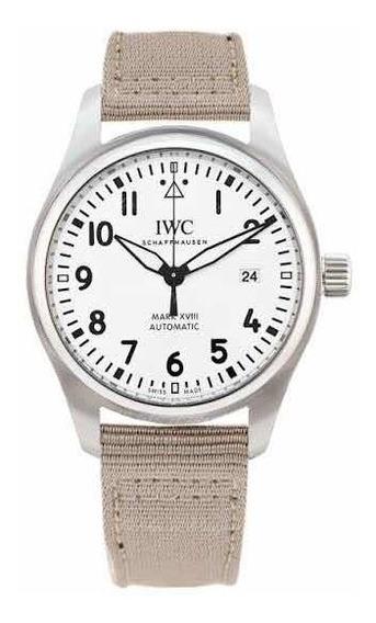Reloj Iwc Mark 18 Vxiii Automático Original Nuevo Blanco