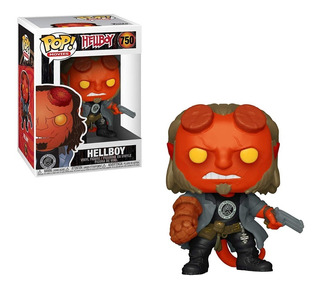 Funko Pop Hellboy With Bprd Tee