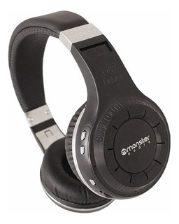 Audífono Monster Bluetooth Profesional 40 Hrs De Musica
