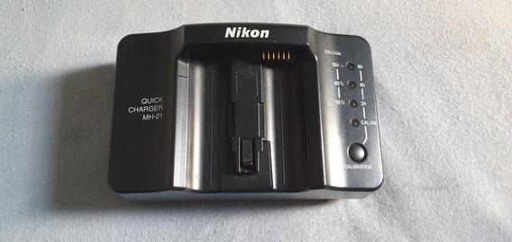 Carregador Nikon Mh-21 Original