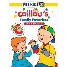 Favoritos De La Familia De Caillou Dvd (dvd + Libro Set)