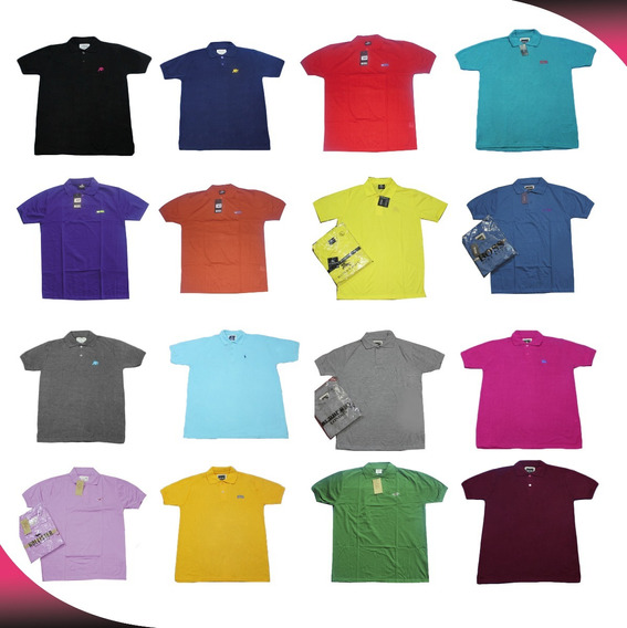 50 Playeras Tipo Polo Dama