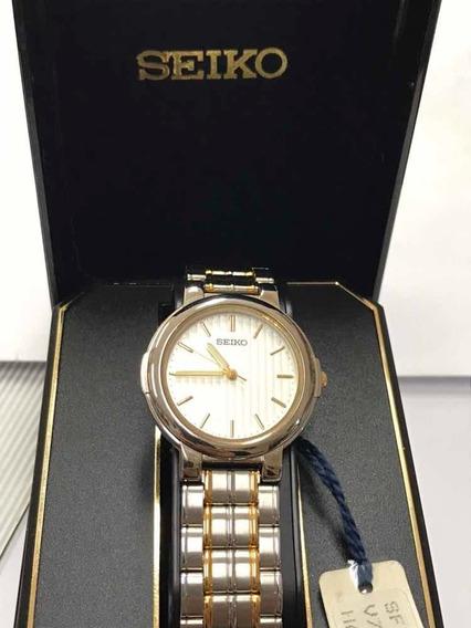Relógio Seiko Original Analógico Quartz, Novo - 12xs/juros
