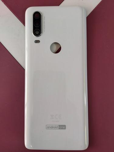 Tapa Motorola One Ref M4628 Blanca Original  De 2da