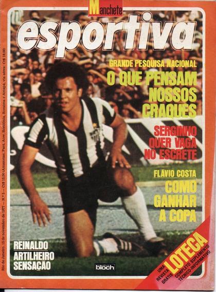 Manchete Esportiva Nº 5 - 1977 - Clube Do Remo - Atlético