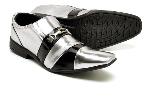 Sapato Colorido Social Verniz Italiano Esporte Fino