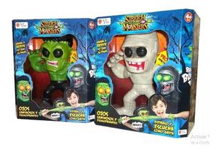 Muñeco Terror Stretch Strong Monster Luz Y Sonido. Top Toys