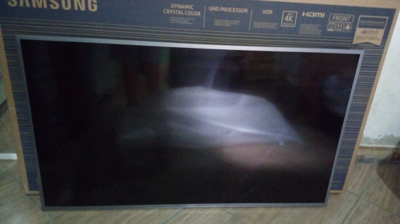 Tv 49p 4k Samsung (tela Trincada)