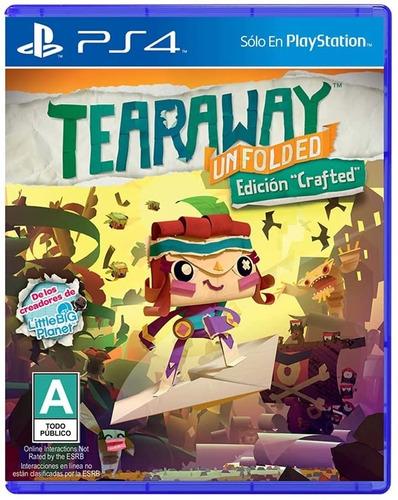 Imagen 1 de 5 de Tearaway Unfolded Crafted Edition - Playstation 4