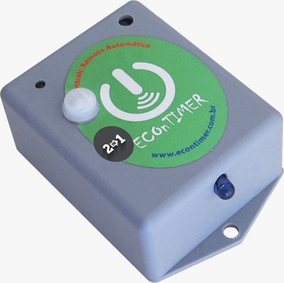 Timer Sensor Movimento Presença Liga Desliga Ar Condicionado