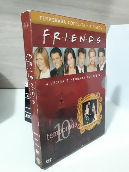 Friends 10 Temporada Box Completo 4 Dvds Original