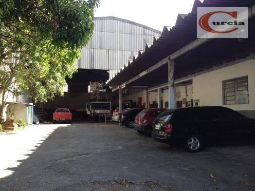Galpão Comercial À Venda, Vila Independência, São Paulo. - Ga0029