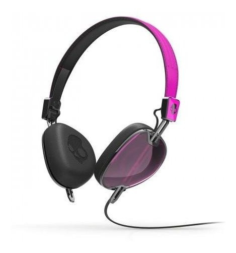 Audifonos Skullcandy Navigator Pink Con Microfono