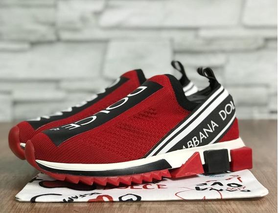 Tênis Dolce & Gabbana - Vermellho