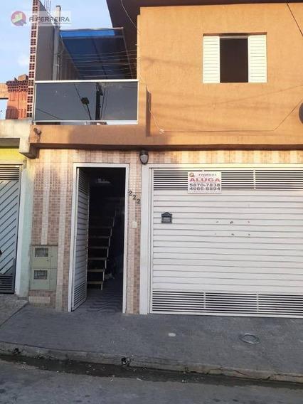 Sobrado Com 2 Dormitórios Para Alugar Por R$ 550,00/mês - Jardim Cinira - Itapecerica Da Serra/sp - So0181