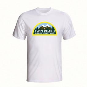Camisa Twin Peaks Sheriff Department Camiseta Estampada