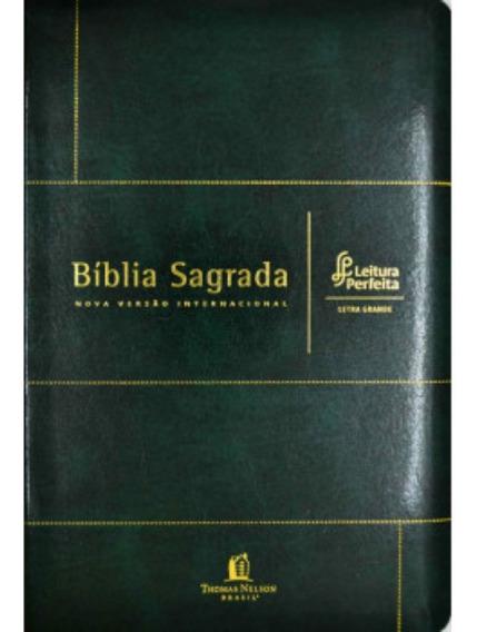 Bíblia Sagrada Nvi - Leitura Perfeita - Letra Grande - Luxo