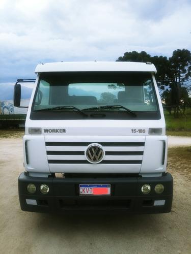Caminhão Vw Worker 15.180 Reduzido Mwm Ano 2009