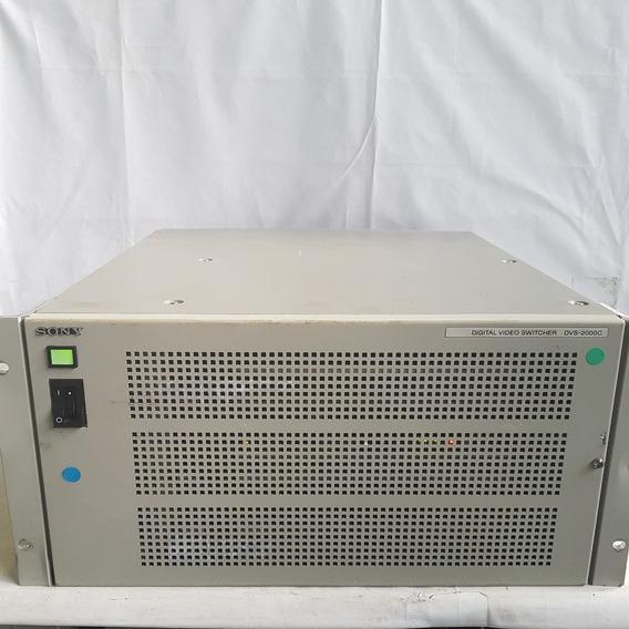 Sony Digital Video Switcher Dvs-2000c