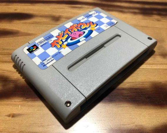 Super Famicom - Kirby Bowl - Dream Course - Nintendo Origina