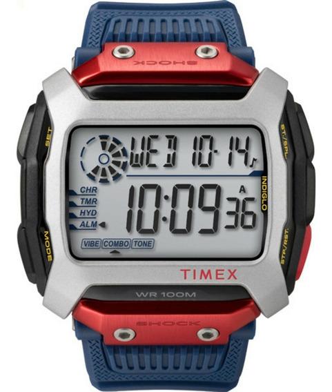 Relógio Timex Command X Red Bull Cliff - Modelo Tw5m20800