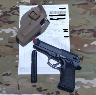 Pistola De Airsoft Beretta M92f Cyma