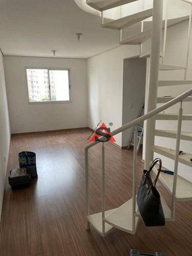 Imagem 1 de 28 de Cobertura Com 3 Dormitórios À Venda, 121 M² Por R$ 585.000,00 - Jardim Celeste - São Paulo/sp - Co1169