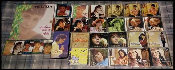 Coleção Gospel Melissa - Cd, Lp, Playback, K7, Livro, Vhs