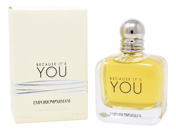 Emporio Armani Because It´s You 100 Ml Edp Spray De Giorgio