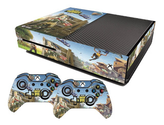 Adesivo Skin Xbox One Fat Fortnite