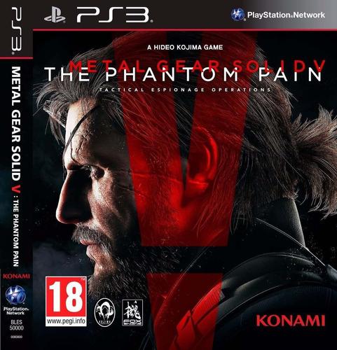 Metal Gear Solid V The Phantom Pain Juego Digital Ps3