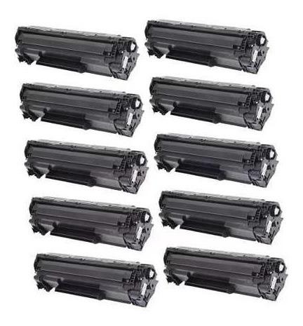 Kit Com 10 Toner 285a P/ Impresoras 1102w/1132w 85rm